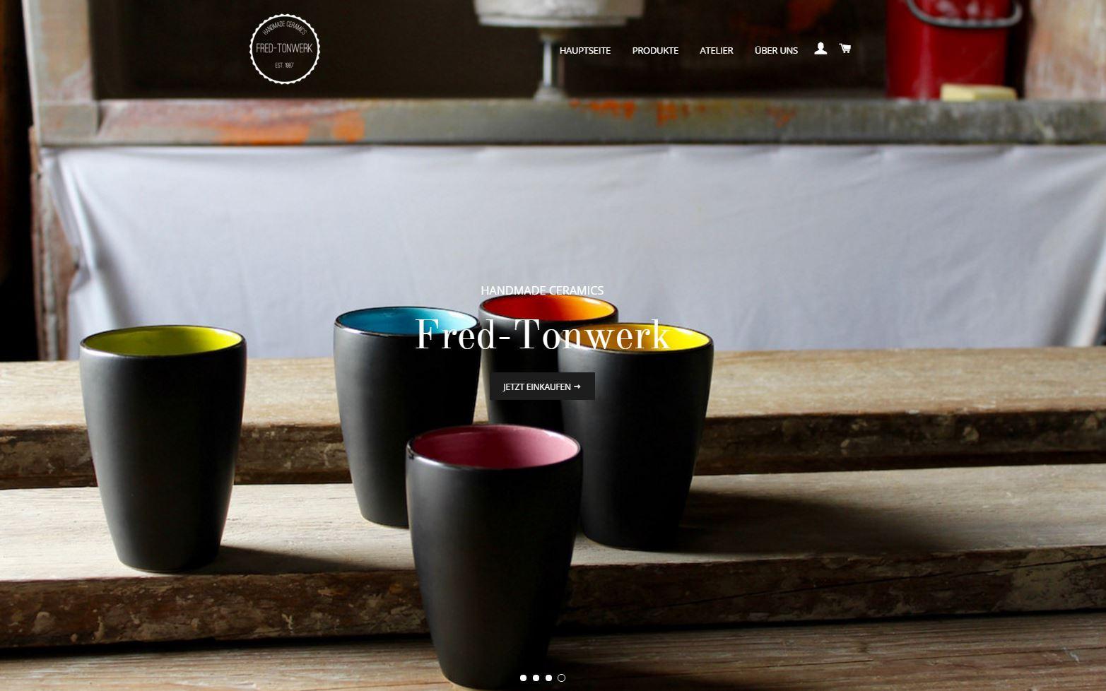 onlineshop fred tonwerk t pferei braun die t pferei im. Black Bedroom Furniture Sets. Home Design Ideas